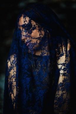 lace veil iga koczorowska