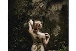 Iga Koczorowska nude fern print mock up